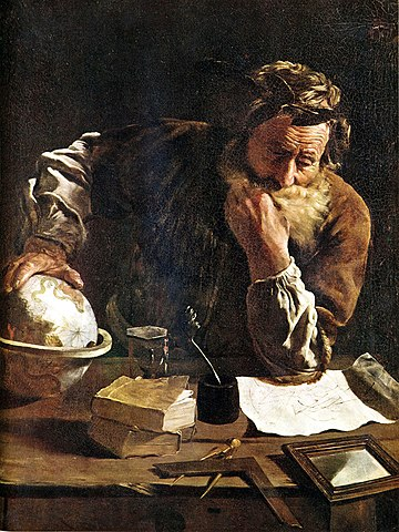 Archimedes (By Domenico Fetti) - Curious Minds Podcast