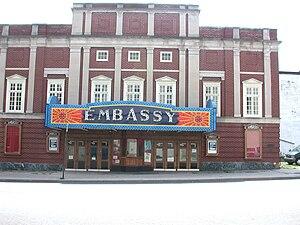 English: Embassy Movie Theater, Lewistown, PA