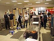 Controles en los aeropuertos