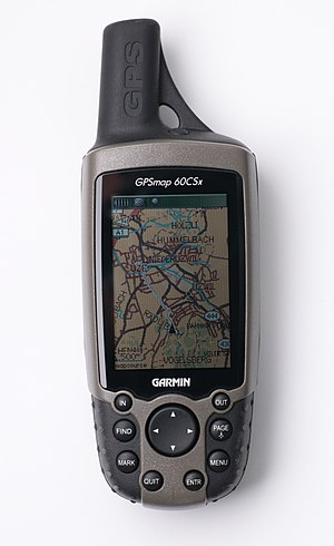 Garmin 60CSx with a map from http://openstreet...