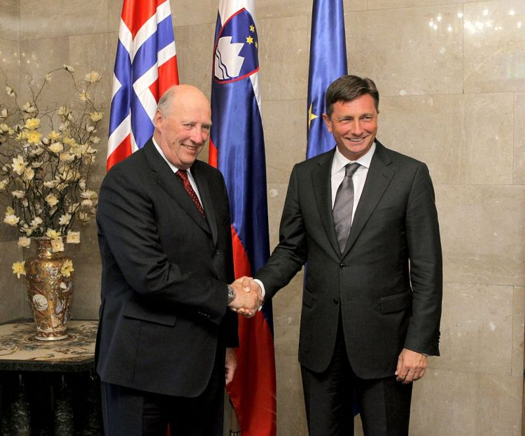 King Harald and Queen Sonja to receive state visit from Slovenia next month
