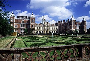 Hatfield House, Hertfordshire, England.