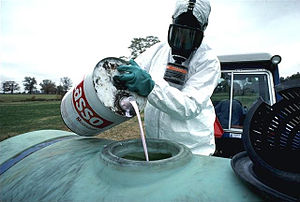 Storage and handling of toxics is assessed for...