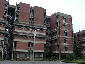 IIT Kanpur Faculty Building