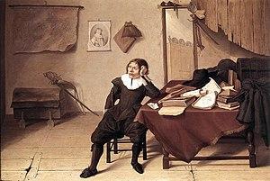 Jan Davidszoon de Heem - Student in his Study
