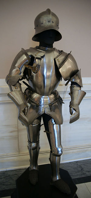Armor of the condottiero Roberto da Sanseverin...
