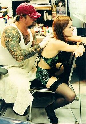Tattoo shop.