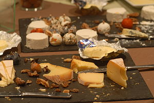 Wine and cheese reception at the 11th Internat...