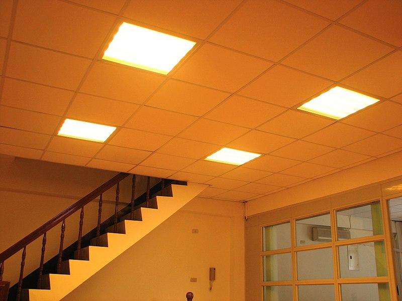 File:3000K LED T-Bar Ceiling Light.JPG
