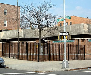 Looking northeast at Greenpoint Branch of Broo...