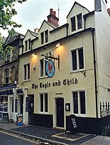 O pub The Eagle and Child