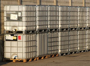 Empty Intermediate Bulk Container Italiano: Ci...