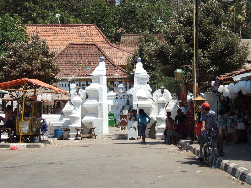 La tombe de Sunan Gunung Jati à Cirebon