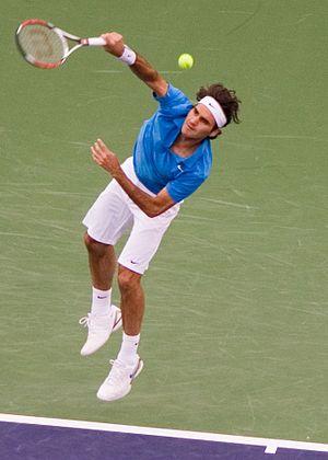 Roger Federer at Indian Wells, 2008