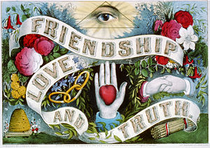 Friendship love and truth