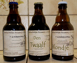 English: Brewery Gaverhopke, Belgian beers