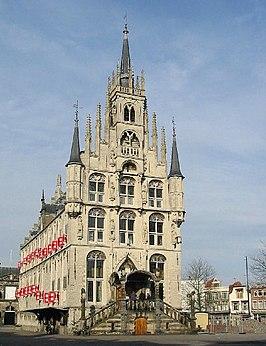 Leeg stadhuis, Gouda