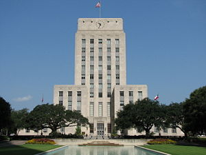 Houston City Hall.