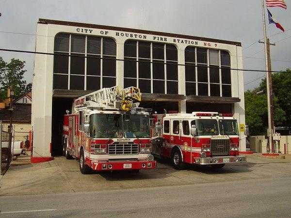 Houston Fire Department Howling Pixel