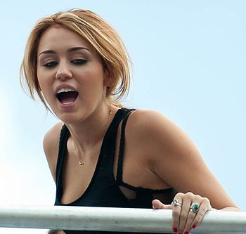 Miley Cyrus at MMVA Soundcheck.