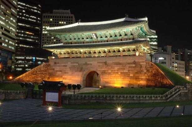 Namdaemun Buildings