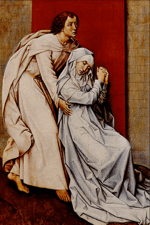 Virgin and Saint John - Roger van der Weyden