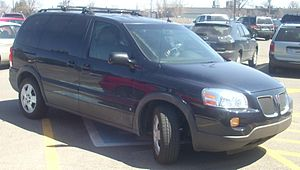 2006-2009 Pontiac Montana SV6 photographed in ...