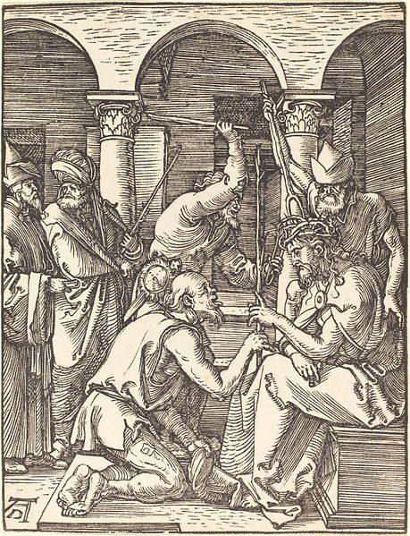 Albrecht Dürer - Christ Crowned with Thorns // larryhuntbiblecommentary.wordpress.com