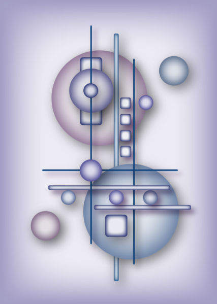 Beispielbild für Computerkunst, erstellt mit Adobe Illustrator CS2