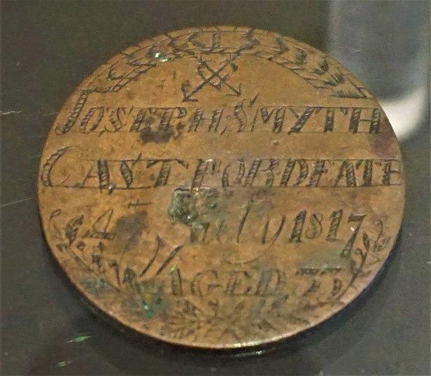 Convict Love Tokens - Joseph Smyth's Copper Heart - Joy of Museums