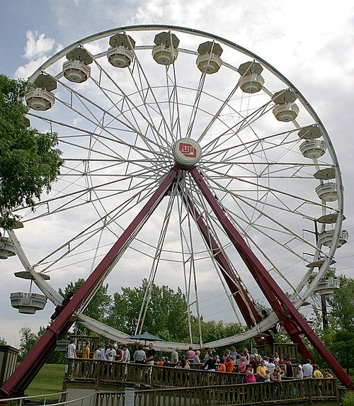 Giant Skywheel at Adventureland, Iowa