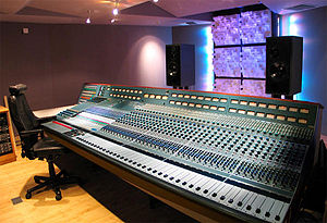 The legendary Neve 8078 in The Way Recording S...
