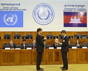 Judge CHUNG Chang-ho from Republic of Korea wa...