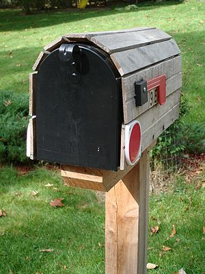 residential mailbox, United States