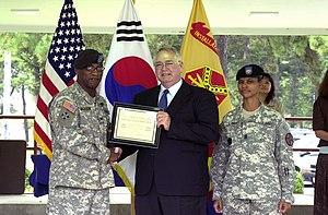 US Army 52848 USAG RC Lean Sigma Green Belt Aw...