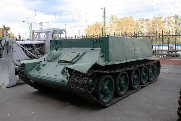 Т-34-Т — Википедия