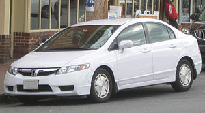 2009-2010 Honda Civic Hybrid photographed in A...