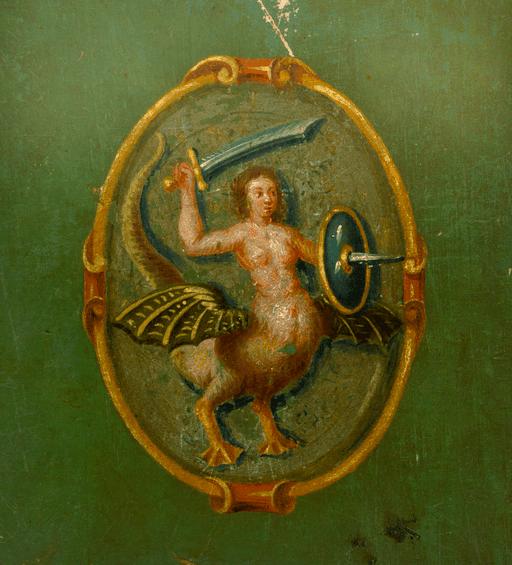 AGAD Herb Warszawy 1652