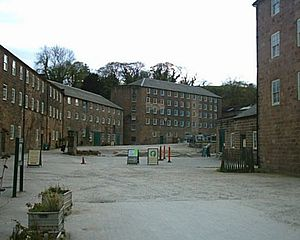 Arkwright's mill at Cromford