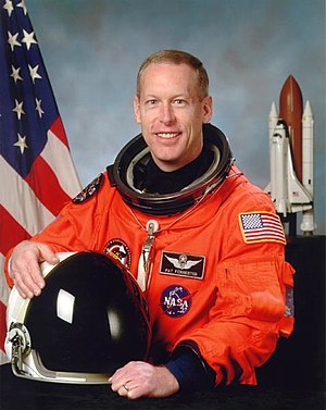 English: Astronaut Patrick G. Forrester