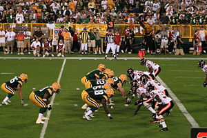 Lambeau Field, Chicago Bears @ Green Bay Packe...