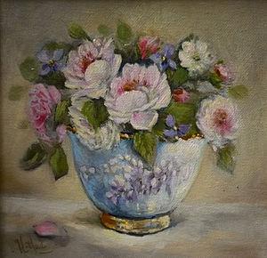 English: A tribute to Jane Austen - Bouquet Em...