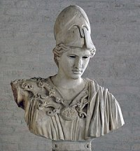 """Bust of Athena, type of the """"Velletri Pallas"""" ..."""