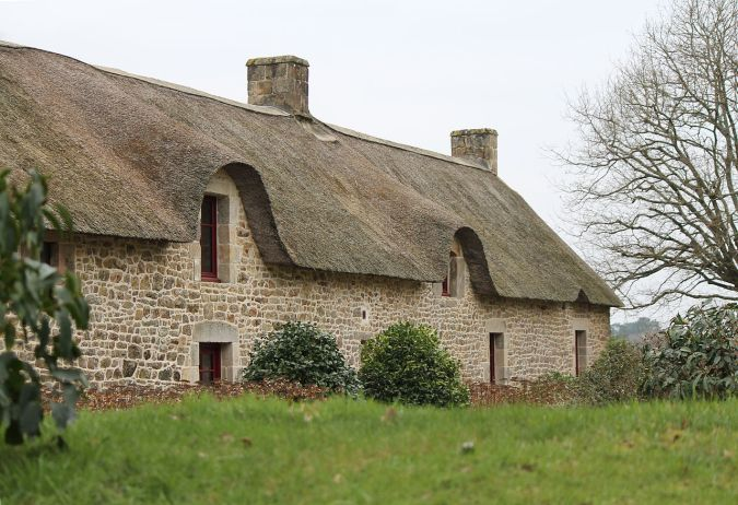 Cahire Breton France Thatched roof