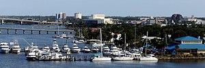 Daytona Beach, view of south Beach St.