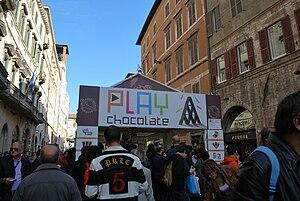 Eurochocolate festival 2008, Perugia, Italy.