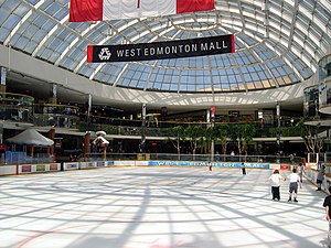 Ice rink in the WEM