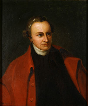 Patrick Henry, portrait by George Bagby Matthe...