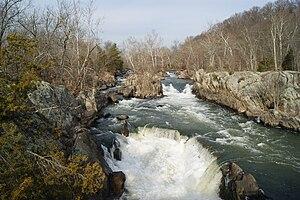 English: Great Falls of the Potomac River