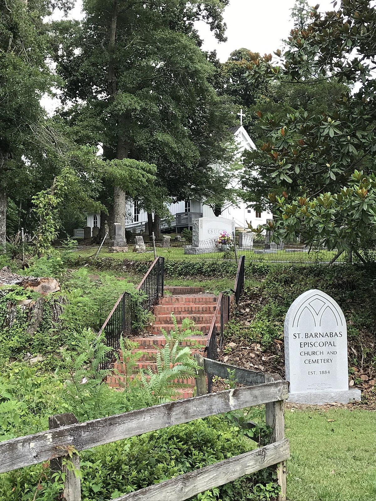St Barnabas Episcopal Church Snow Hill North Carolina